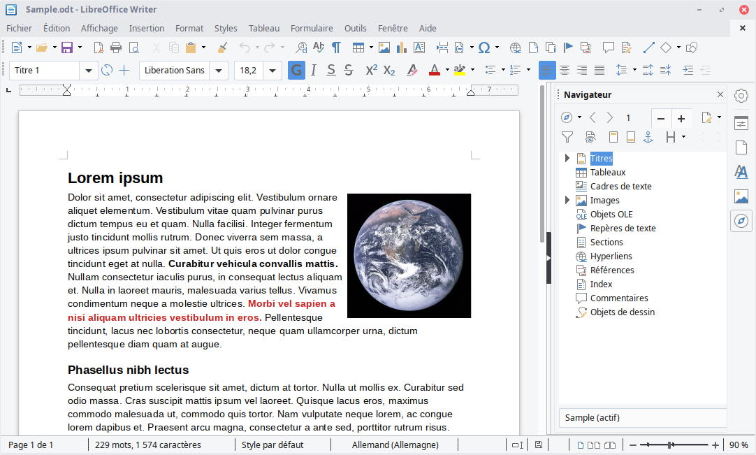 FRANCAIS IMPRESS TÉLÉCHARGER LIBREOFFICE EN