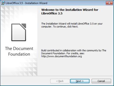 Windows communaut libreoffice francophone - Libre office pour windows ...